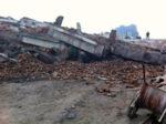 Zniszczony kościół w Chinach