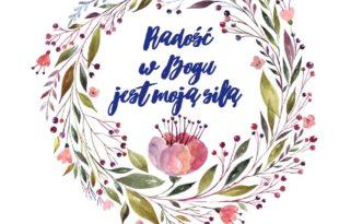 notatnik radość w Bogu