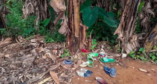 Buty porwanych dzieci